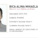 22:40 Alina Bica, prinsă de poliţişti în Italia