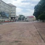 Romanescu repară pavimentul din centrul Târgu-Jiului. Cât costă lucrările