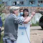 """14:43 VIDEO.  Pensionar nervos către ministrul Muncii: """"Mărește-mi pensia! Eu te omor cu mâna mea"""""""