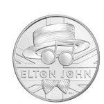 Marea Britanie a emis o monedă în onoarea cântăreţului Elton John