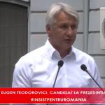 07:24 Teodorovici candidează la șefia PSD