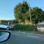 21:34 Accident la Brănești. 5 persoane rănite