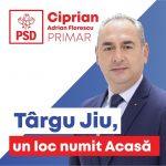 PROMOVARE ELECTORALĂ: Ciprian Florescu, candidat PSD Primăria Târgu-Jiu