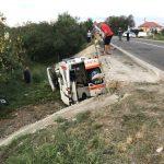 TRAGEDIE: Pacienta din ambulanța căzută de pe pod a murit