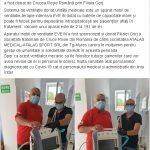 14:14 Aparat mobil de ventilație, donat de Crucea Roșie Spitalului Județean de Urgență din Târgu-Jiu