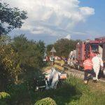 09:23 Pacienta din ambulanța căzută de pe pod, la Bălești, a murit