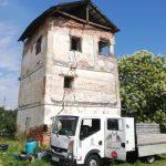 A început restaurarea Culei Cioabă-Chintescu. Bucurescu: Sprijinim și noi cu o sumă de bani
