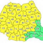 09:05 Avertizare meteo cod galben: ploi, vijelii și grindină în peste 30 de județe