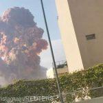 19:37 Explozie puternică la Beirut