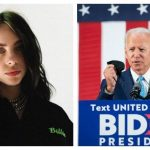 Cântăreaţa Billie Eilish îl susţine pe Joe Biden