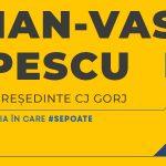 21:37 Iulian Popescu şi-a publicat programul electoral