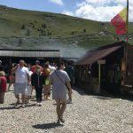 Transalpina, plină de turiști în week-end