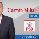 17:12 Cosmin Popescu: Peste 50 milioane euro, fonduri europene nerambursabile, investite în perioada 2016 – 2020