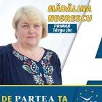 Mădălina Negrescu: Îmi doresc să se realizeze PUG-ul Târgu-Jiului