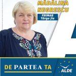 PROMOVARE ELECTORALĂ: Mădălina Negrescu, candidat ALDE Primăria Târgu-Jiu