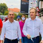 11:33 Weber, în campanie alături de candidatul PSD