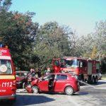 13:30 Accident pe Bujorăscu provocat de o tânără de 21 de ani