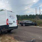 18:40 Accident la Turceni. Şoferii şi o fetiţă de 8 ani, răniţi