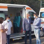 Spitalul Județean are propriile-i ambulanțe. Ce proiecte a anunțat Vienescu