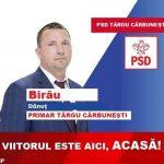 PROMOVARE ELECTORALĂ: Dănuț Birău, candidat PSD Primăria Târgu-Cărbunești