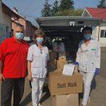 16:39 Crucea Roșie Gorj, o nouă donație către spitale