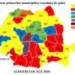 11:39 Harta primarilor municipiilor reşedinţă de judeţ