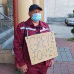 10:22 Ion Popescu a intrat în GREVA FOAMEI în fața CE Oltenia