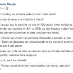 10:40 Radu Miruţă: S-a votat la 4 mâini!