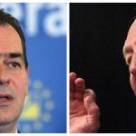 """10:14 Băsescu îl ameninţă pe Orban. """"Dacă va fi aşa, eu te scot în şuturi de la Palatul Victoria!"""""""