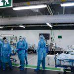07:31 Pacienţi cu COVID, trataţi în spital subteran