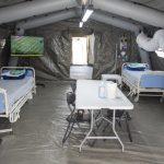 Târgu-Jiu: Spital modular pentru pacienții cu COVID