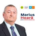 PROMOVARE ELECTORALĂ: Marius Hoară, candidat USR-PLUS la funcția de președinte CJ Gorj