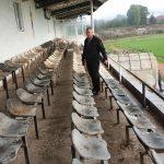 14:58 Baza sportivă din Motru, igienizată. Morega promite investiții