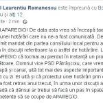 09:32 Romanescu: Un nou abuz al Aparegio