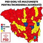 16:09 Harta politică a Gorjului după locale
