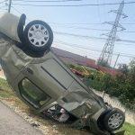 14:26 Rănit după ce a intrat cu mașina într-un pod de beton