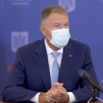 07:15 Klaus Iohannis: NU există nicio intenție de lockdown după alegeri