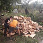 21:08 Gest CARITABIL: Mașină plină cu lemne pentru doi copii crescuți de tată