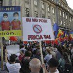 18:29 Protest anti-mască în Bucureşti