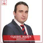 PROMOVARE ELECTORALĂ: Claudiu Manta, candidat PSD Camera Deputaților