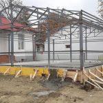 08:16 A început construcția laboratorului COVID Târgu-Cărbunești
