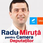 PROMOVARE ELECTORALĂ: Radu Miruță, candidat USR-PLUS Camera Deputaților