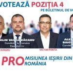 PROMOVARE ELECTORALĂ: Ion Ișfan, Pro România