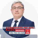 PROMOVARE ELECTORALĂ: Cristinel Rujan, candidat PSD Senatul României