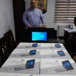 15:57 Padeș: Laptopuri pentru cadrele didactice de la Școala Gimnazială