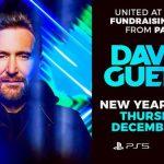 DJ David Guetta, show caritabil pe 31 decembrie la Paris
