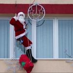 Inedit! Moș Crăciun a coborât de pe primărie