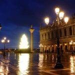 Bradul de Crăciun din Piaţa San Marco de la Veneţia va fi digital