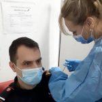 08:49 S-a vaccinat anti-COVID. Purtătorul de cuvânt al ISU Gorj: Nici cipuri n-au băgat, nici apocalipsa n-a venit