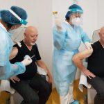10:54 A început vaccinarea anti-COVID și în spitalele din județ
